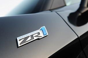 2012 Chevrolet Corvette ZR1 badge